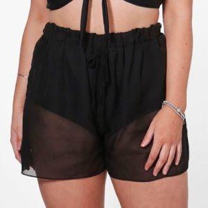 Pants - Swim/ Intimate clear shorts